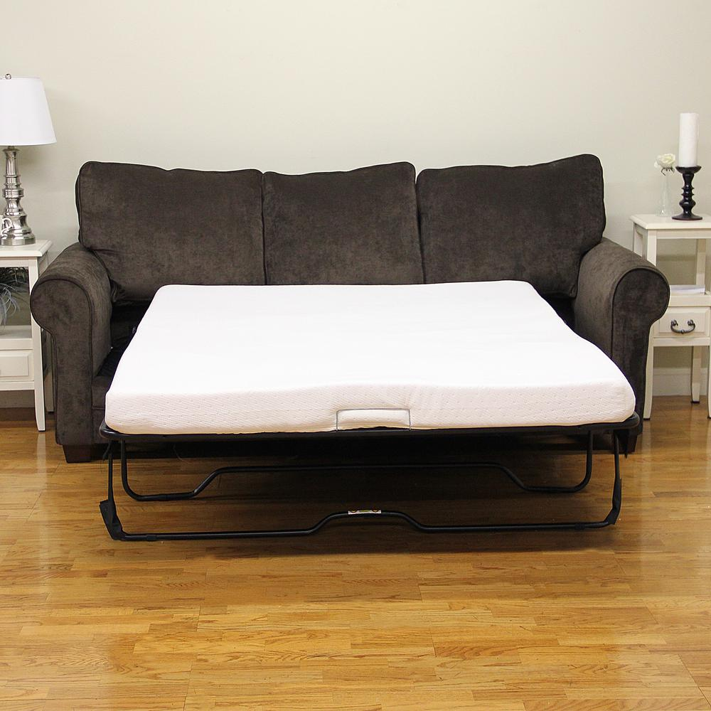 Sleep Options Classic Full Size Memory Foam 4.5 In. Sofa Bed Mattress