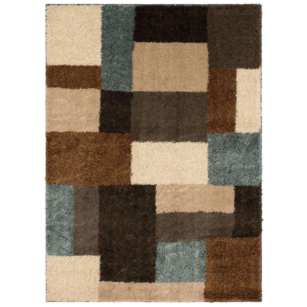 Mohawk Home Franklin Gray Woven 7 ft. x