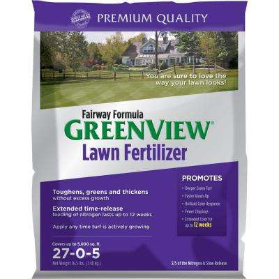 16.5 lb. 5,000 sq. ft. 27-0-5 Zero Phosphate Fairway Formula Lawn Fertilizer