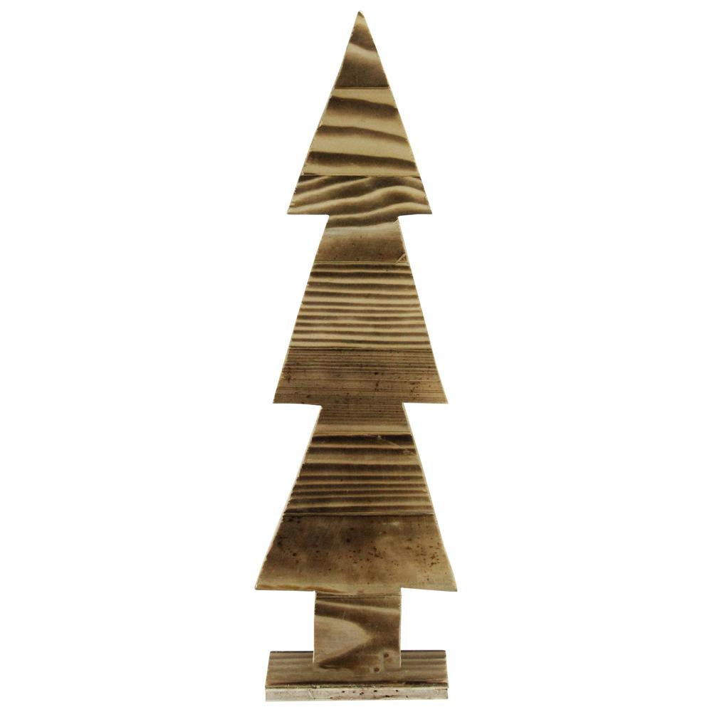 Christmas Tree Cut Out.Northlight 16 25 In Rustic Wood Cut Out Christmas Tree Table Top Decoration