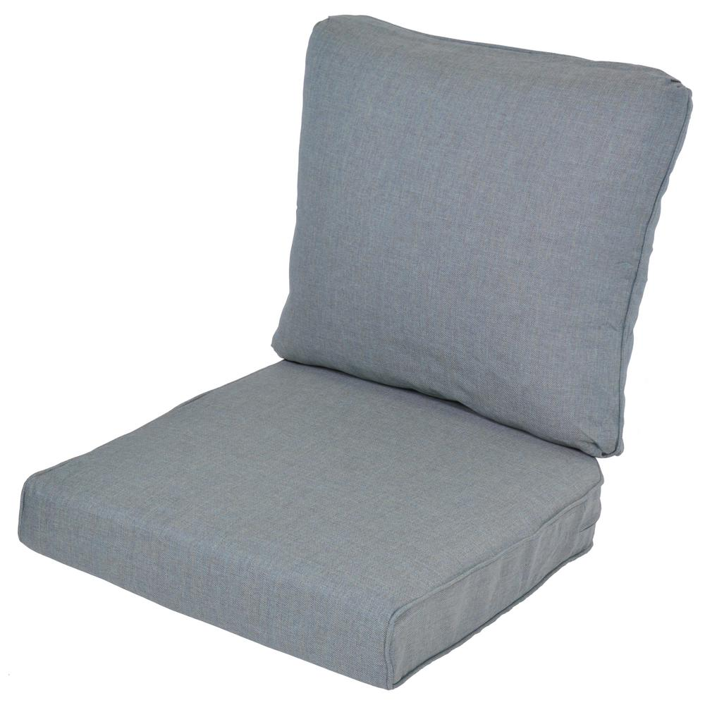 lemon grove spa replacement 2 piece outdoor loveseat cushion 7712 01407604 the home depot. Black Bedroom Furniture Sets. Home Design Ideas