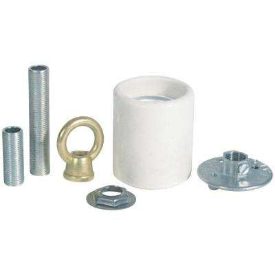 Porcelain Keyless Socket Adapter Kit