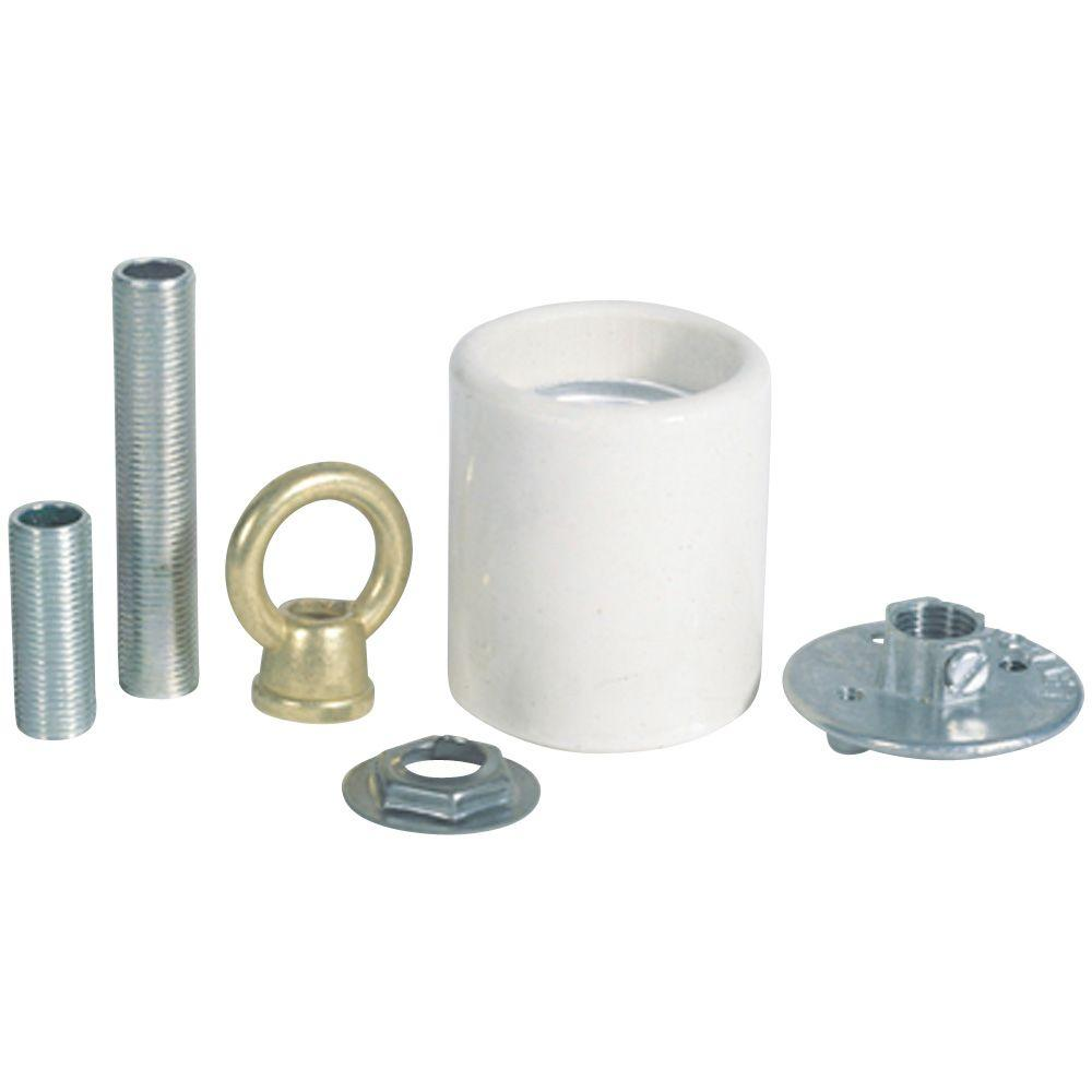 Westinghouse Porcelain Keyless Socket Adapter Kit