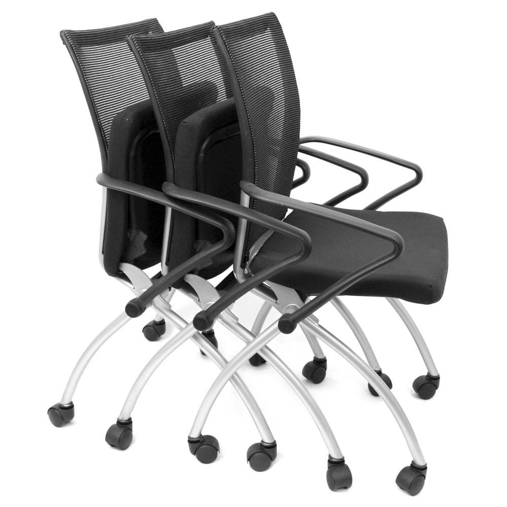 +4. Regency Apprentice Black Nesting Chair