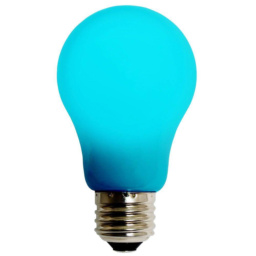 4W Equivalent Blue A15 EVO360 LED Light Bulb 55D