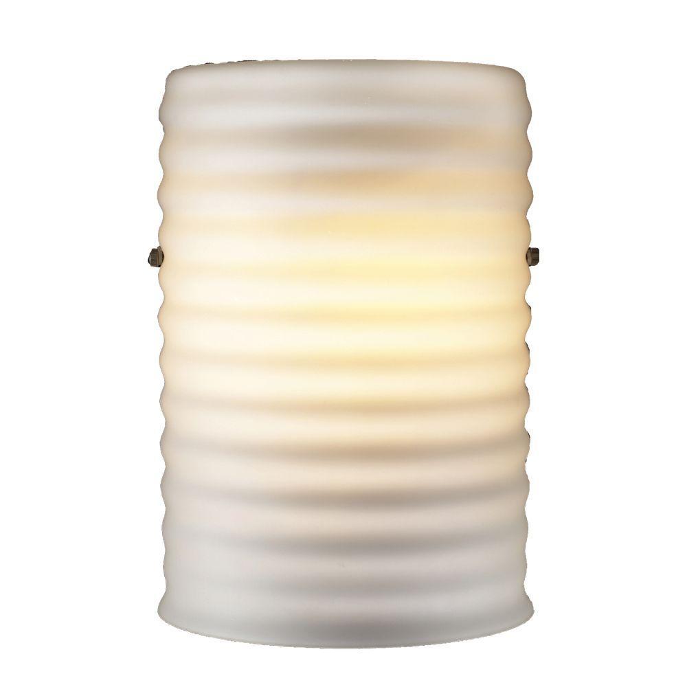 PLC Lighting 1 Light Wall Sconce Matte Opal Glass