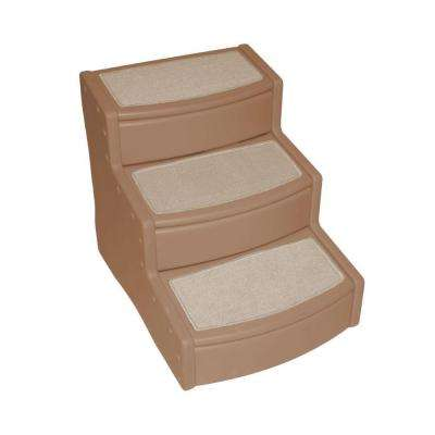 25 in. L x 20 in. W x 23 in. H Extra Wide Easy Steps III in Tan