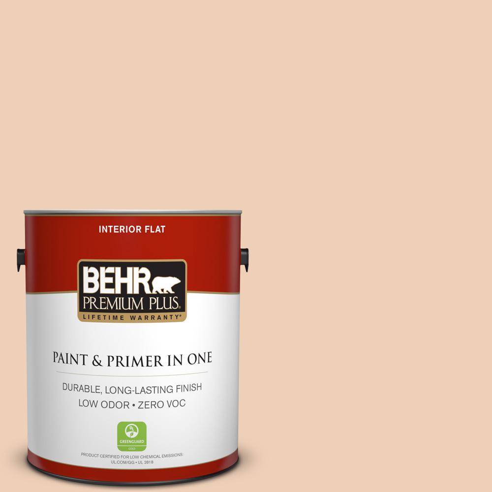 BEHR Premium Plus 1-gal. #260E-2 Clamshell Zero VOC Flat Interior Paint