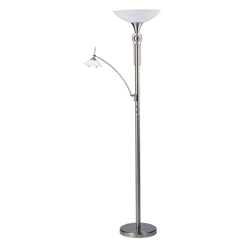 Filament Design Cassiopeia 71 in. Antique Brass Torchiere Lamp