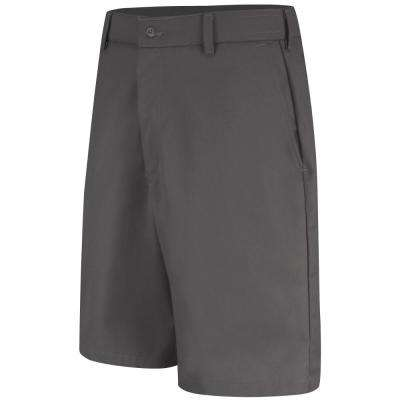 Men's Size 30 in. x 12 in. Charcoal Cell Phone Pocket Short