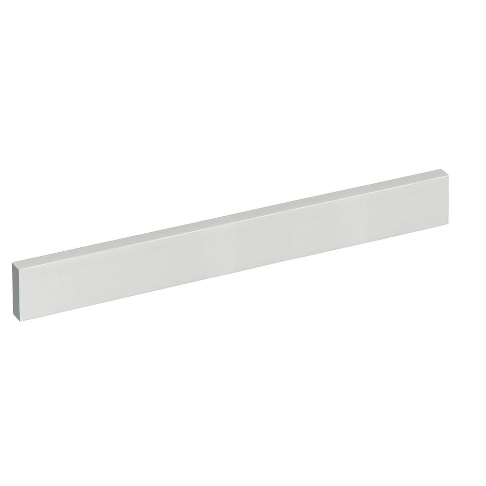 SCHWINN HARDWARE 3621 Series 7-9/16 in. Center-to-Center Clear Anodized Rectangular Bar Cabinet Pull -  59013