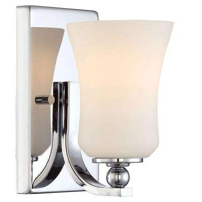 Home Decorators Collection Sconces Lighting The Home Depot - Square bathroom sconce