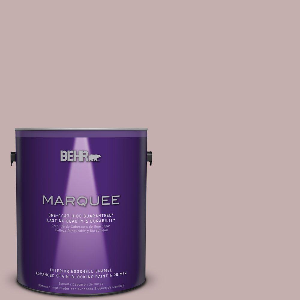 1 gal. #MQ1-45 Versailles Rose One-Coat Hide Eggshell Enamel Interior Paint