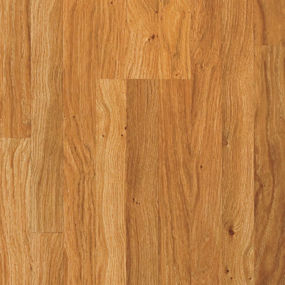 Pergo Prestige Exotics Golden Tahitian Laminate Flooring - 5 in. x 7 in. Take Home Sample