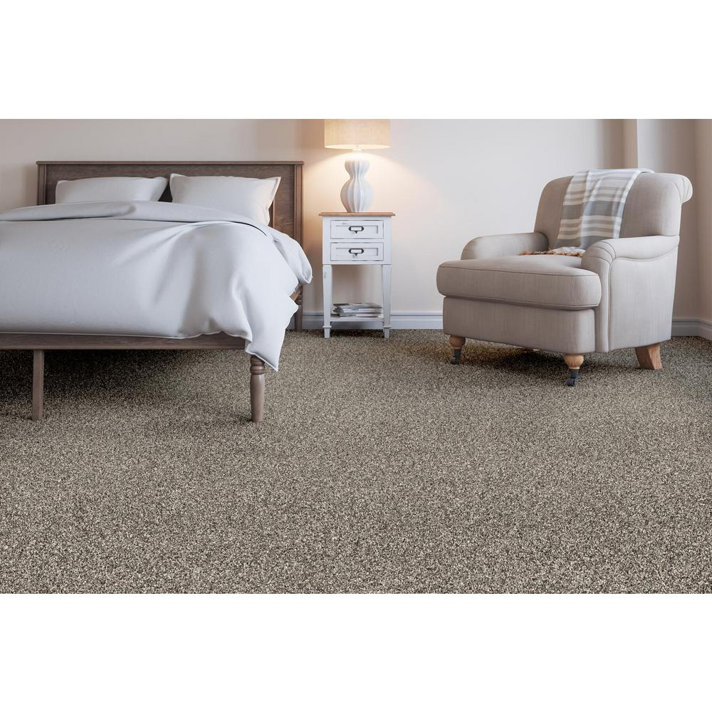 Home Decorators Collection Wholehearted Ii Color Shark Fin Twist 12 Ft Carpet Hde1313511 The Home Depot