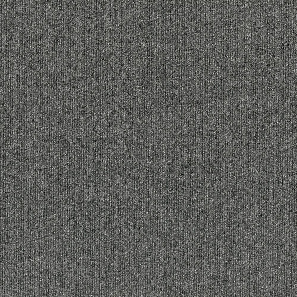 Trafficmaster Elevations Color Sky Grey Ribbed Texture Indoor Outdoor 12 Ft Carpet 7pd5n660144h The Home Depot