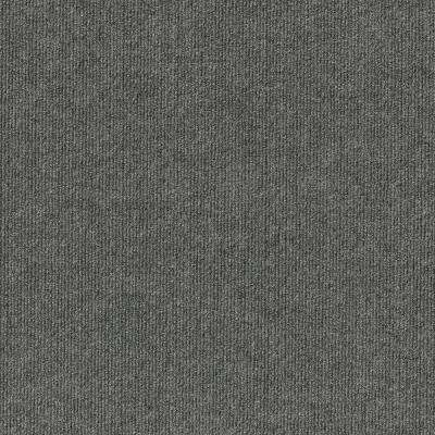 Elevations Color Sky Grey Ribbed Texture Indoor Outdoor 12 Ft Carpet