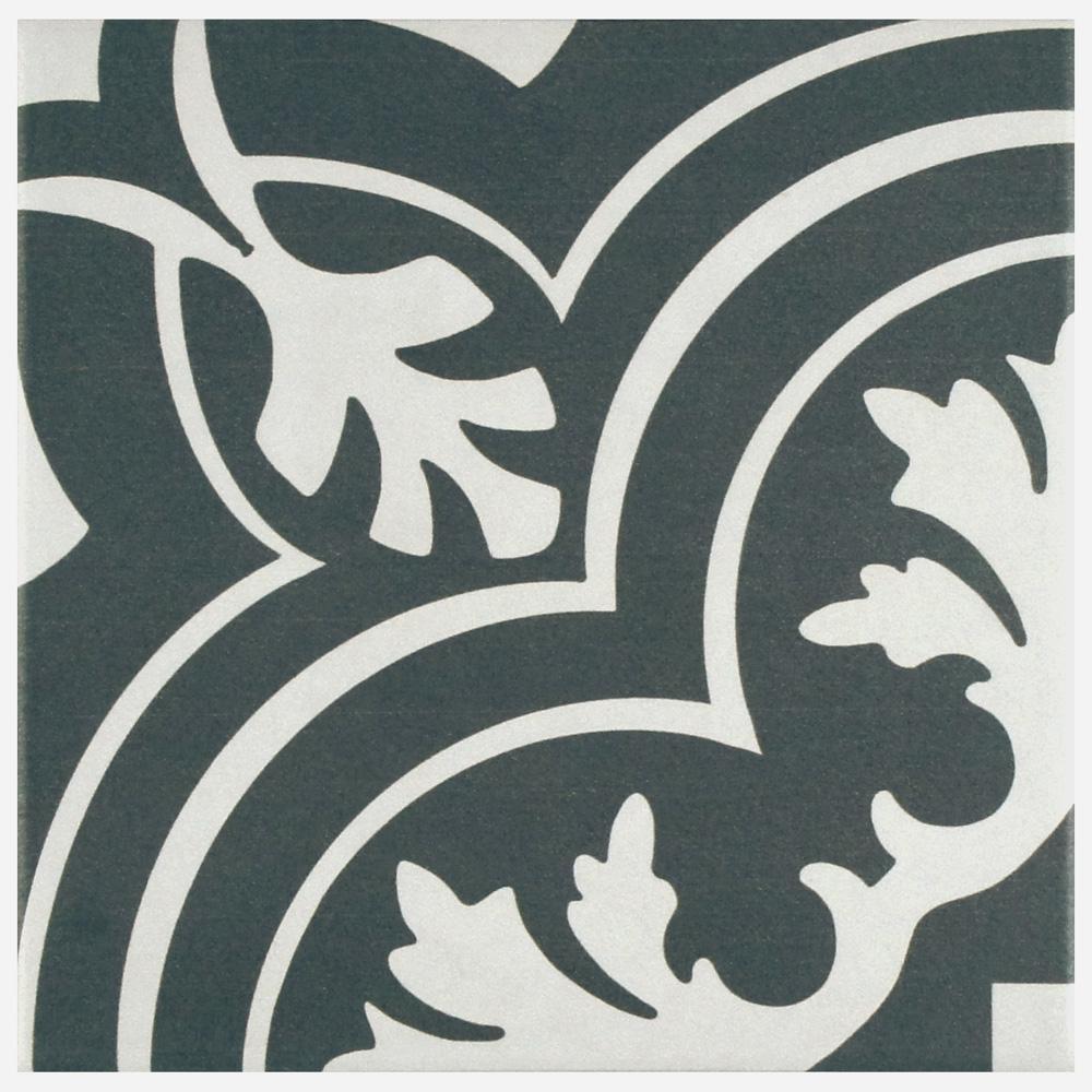 Merola Tile Twenties Classic Ceramic Floor and Wall Tile - 7-3/4 in. x 7-3/4 in. Tile Sample