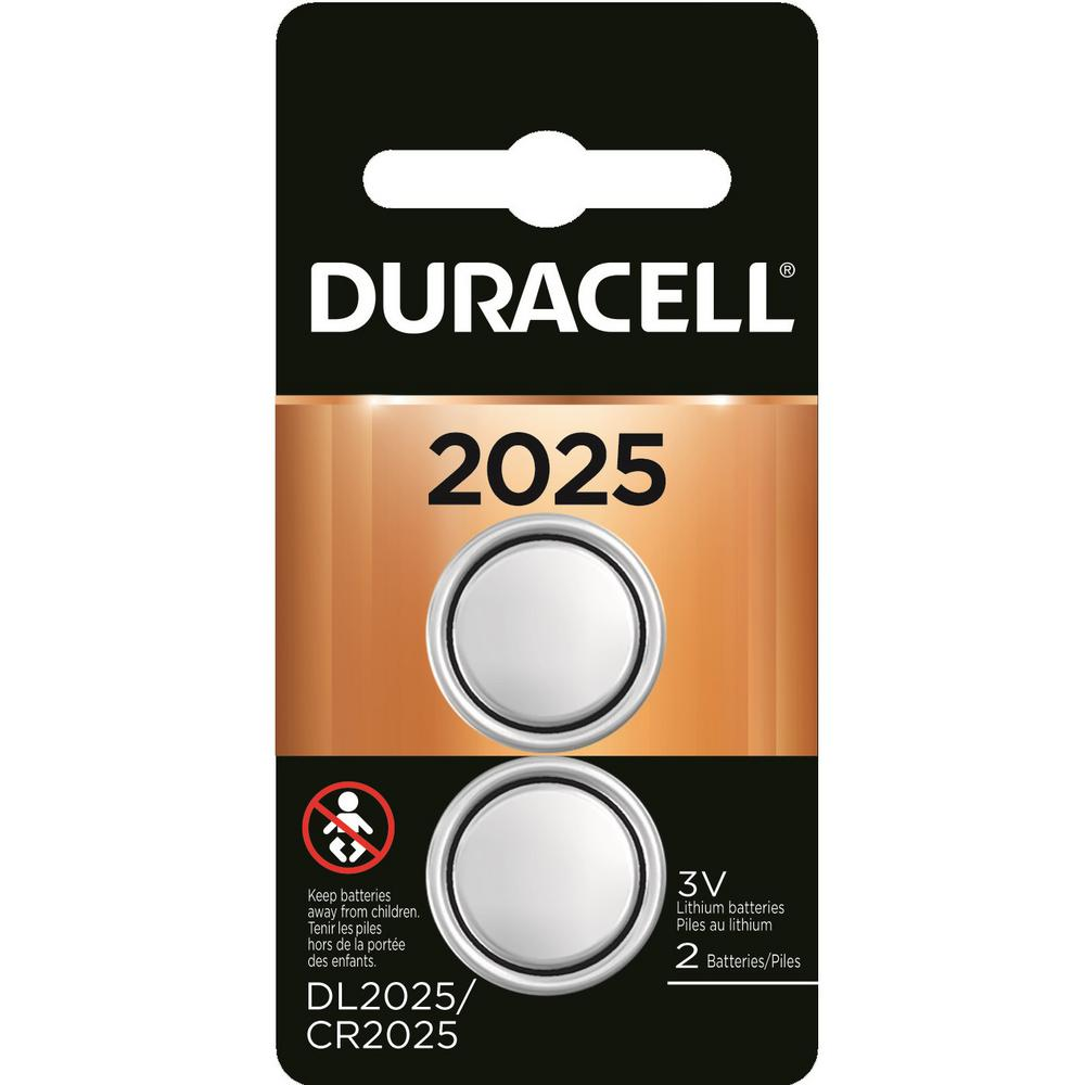 Duracell Coppertop Lithium Coin 2025 Battery (2-Pack)