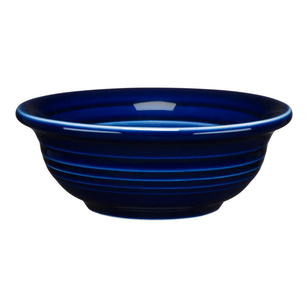 Fiesta Cobalt Blue Individual Fruit Salsa Bowl 1489105u The Home Depot