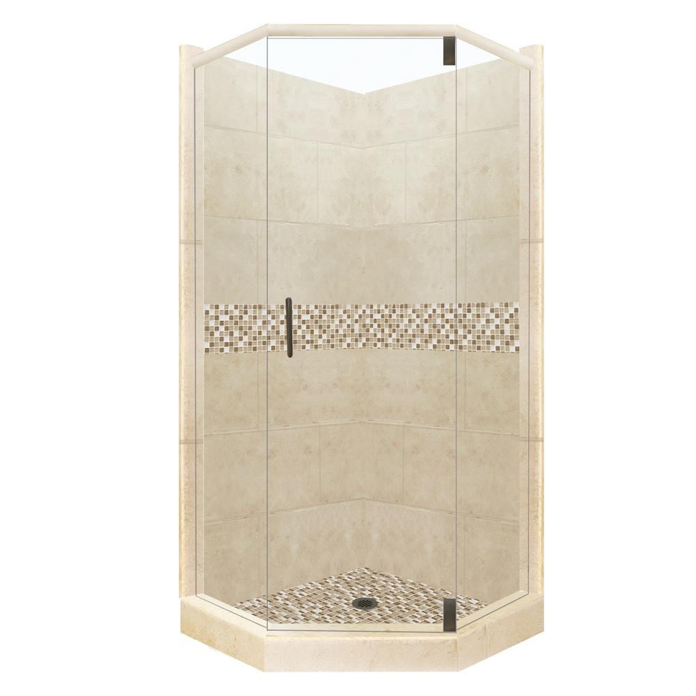 American Bath Factory Roma Grand Hinged 38 In X 38 In X