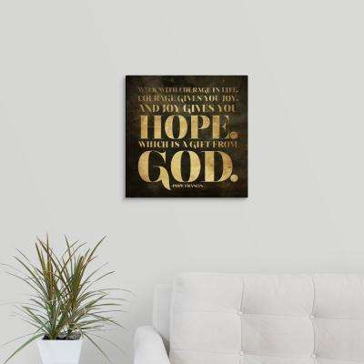 """Gift from God"" by Jace Grey Canvas Wall Art"