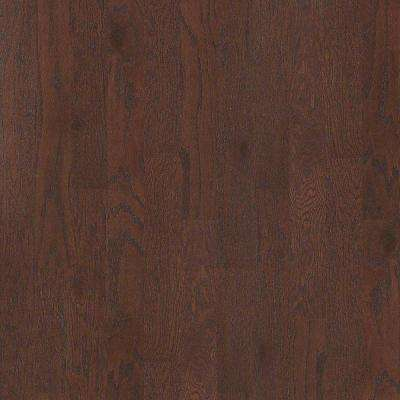 Take Home Sample - Woodale Oak Coffee Bean Click Hardwood Flooring - 5 in. x 8 in.