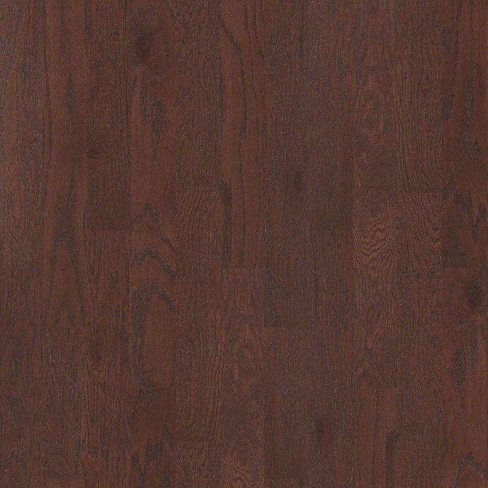 Take Home Sample - Woodale Oak Coffee Bean Click Hardwood Flooring - 5 in. x 8 in.