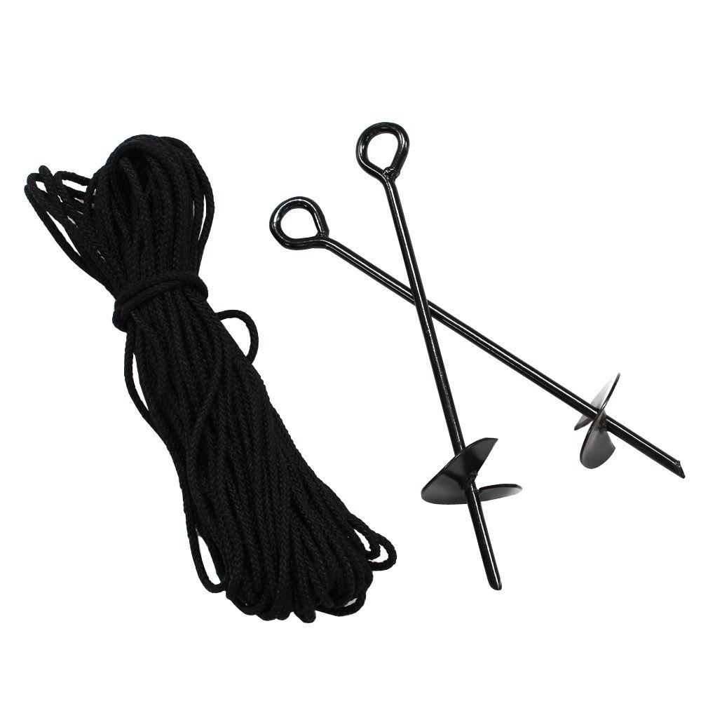King Canopy Anchor Kit with Rope (10-Piece)