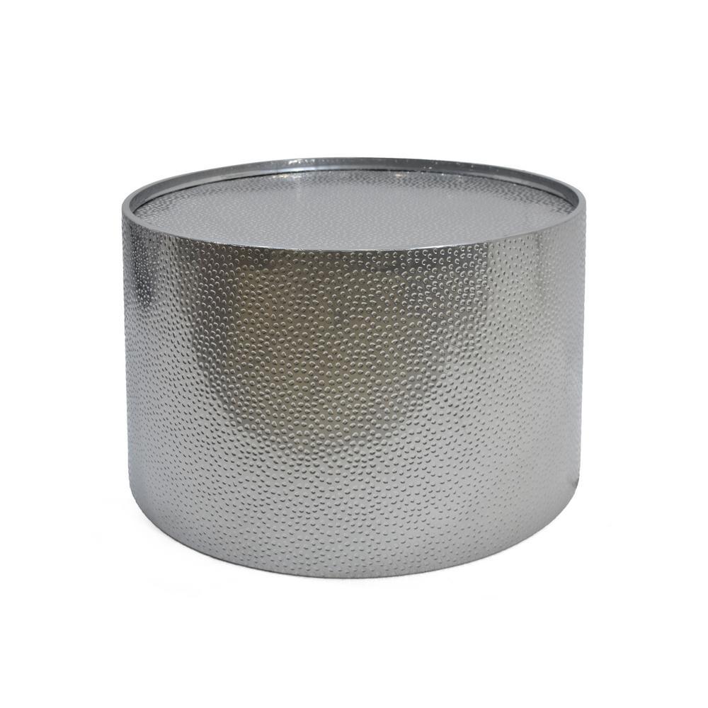 Braeburn Silver Round Coffee Table