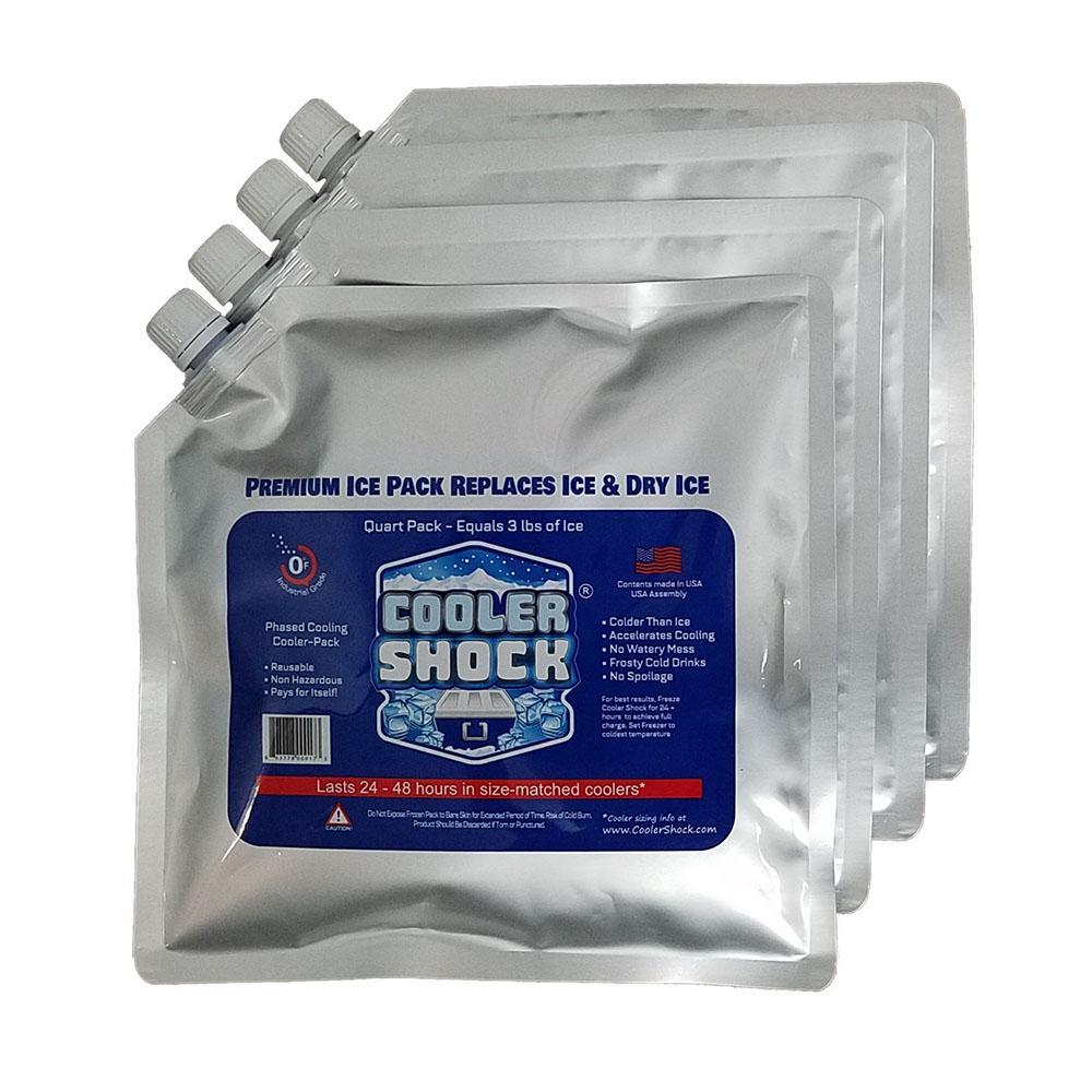 2 BLUE ICE PACKS For FREEZING FREEZER ICE BLOCK COOLERS