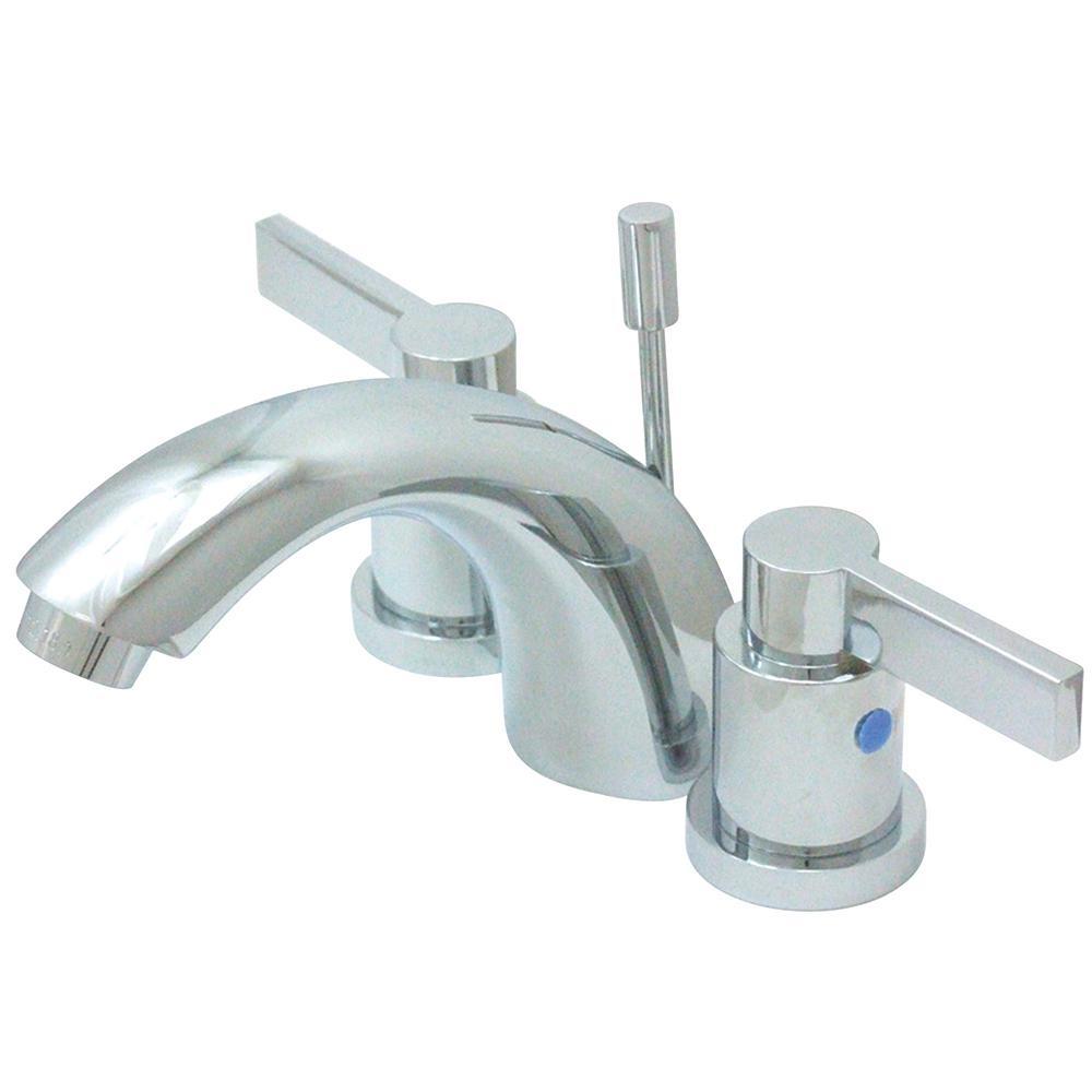 Kingston Brass Everett 4 in. Minispread 2-Handle Bathroom Faucet in Chrome