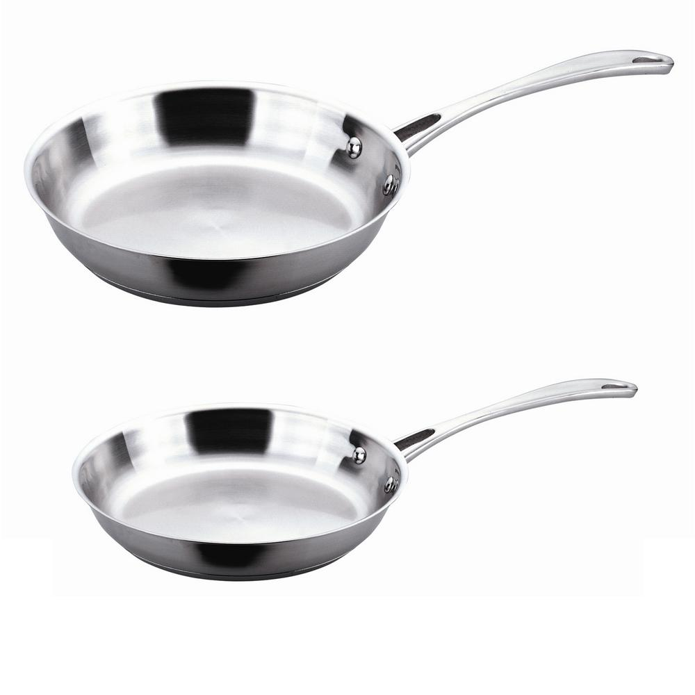 "Calphalon Stainless Steel 12"" Frying Pan with Lid ... 