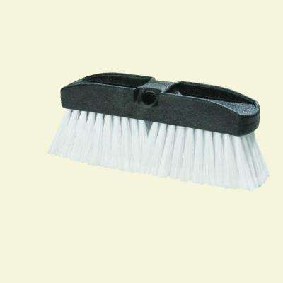 10 in. Flo-thru Vehicle Brush with Polystyrene Bristles (Case of 12)