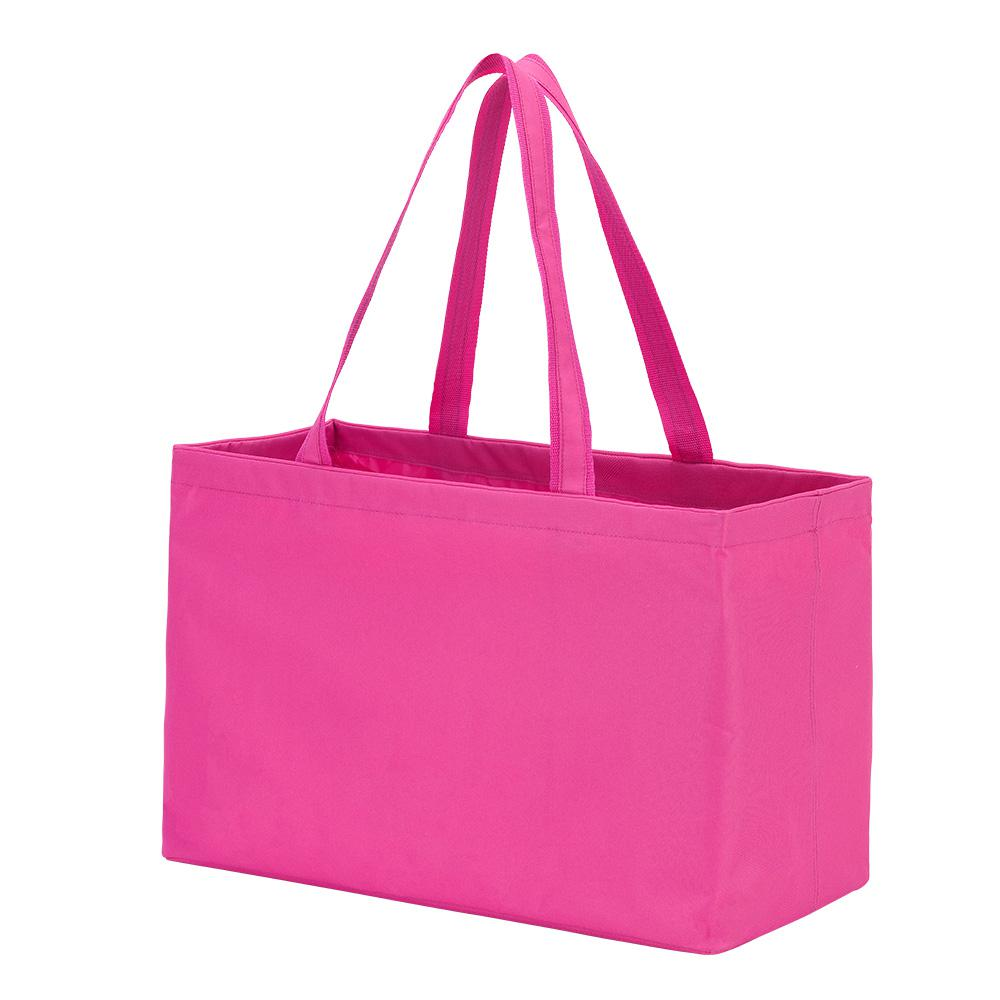 Hot Pink Polyester Ultimate Tote Bag, Women's