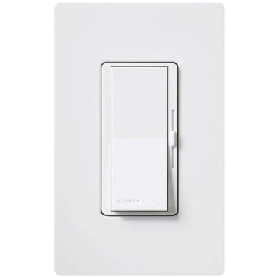 Diva 3-Speed Fan Control  with Wallplate Switch, Single-Pole, White