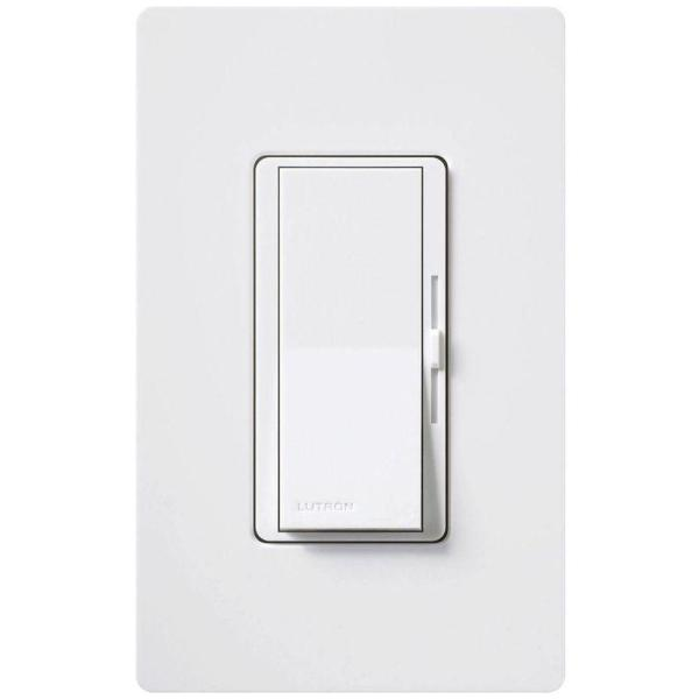 Diva 3-Speed Fan Control  with Wallplate Switch, Single-Pole, White