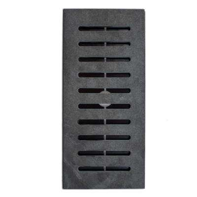 Made2Match Hampshire Gauged Slate 5 in. x 11 in. Floor Vent Register Tile Edging Trim