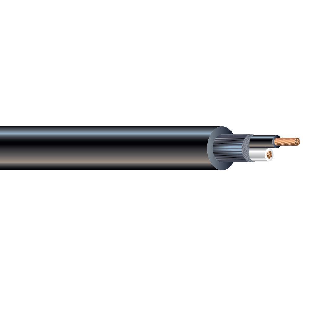 (By-the-Foot) 14/2 300-Volt CU Black Flexible Portable Power SJOOW Cord