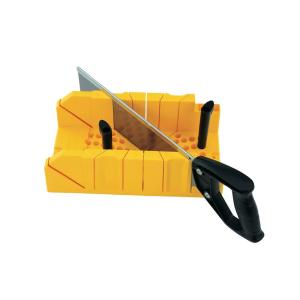 Deluxe Miter Box with Saw