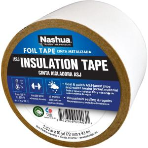 Nashua Tape 2 83 In X 10 Yd Asj All Service Jacketing