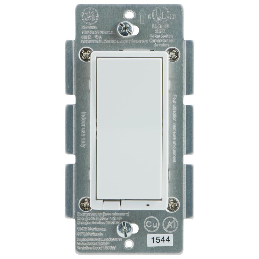ge z wave plus outdoor wireless smart lighting control 14284 the