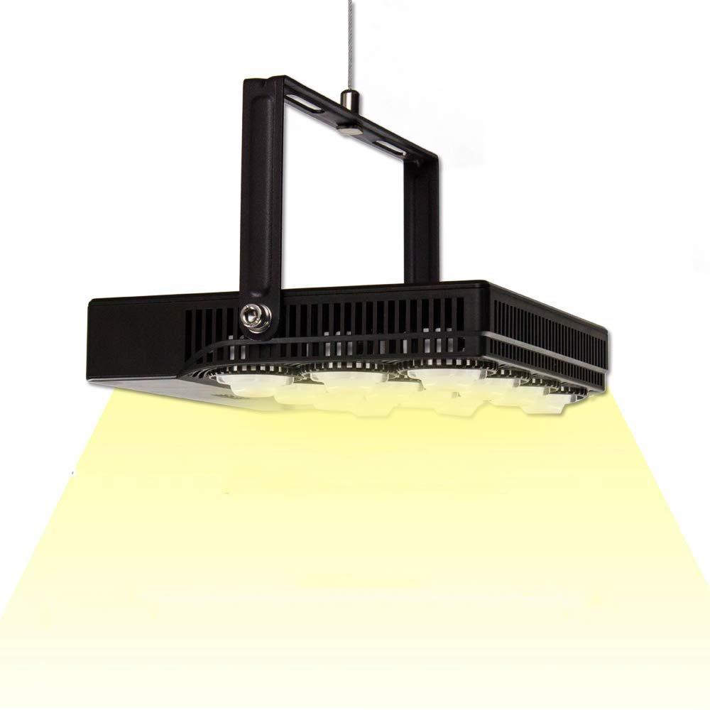 70-Watt 3915 Lumens Integrated LED Full Spectrum Grow Light, Daylight
