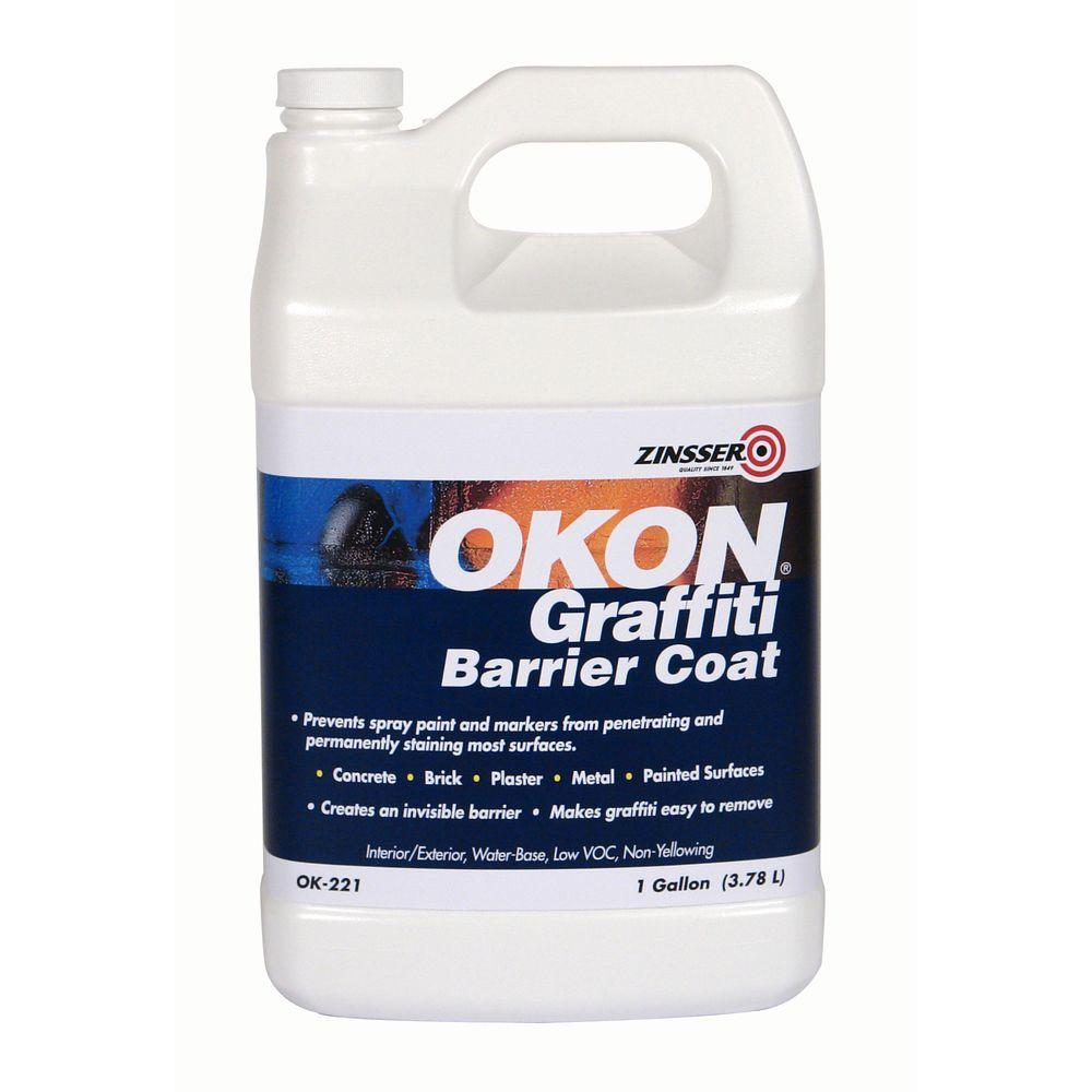 Rust-Oleum OKON 1 -gal. Water Repellent Graffiti Barrier Coat (Case of 4)