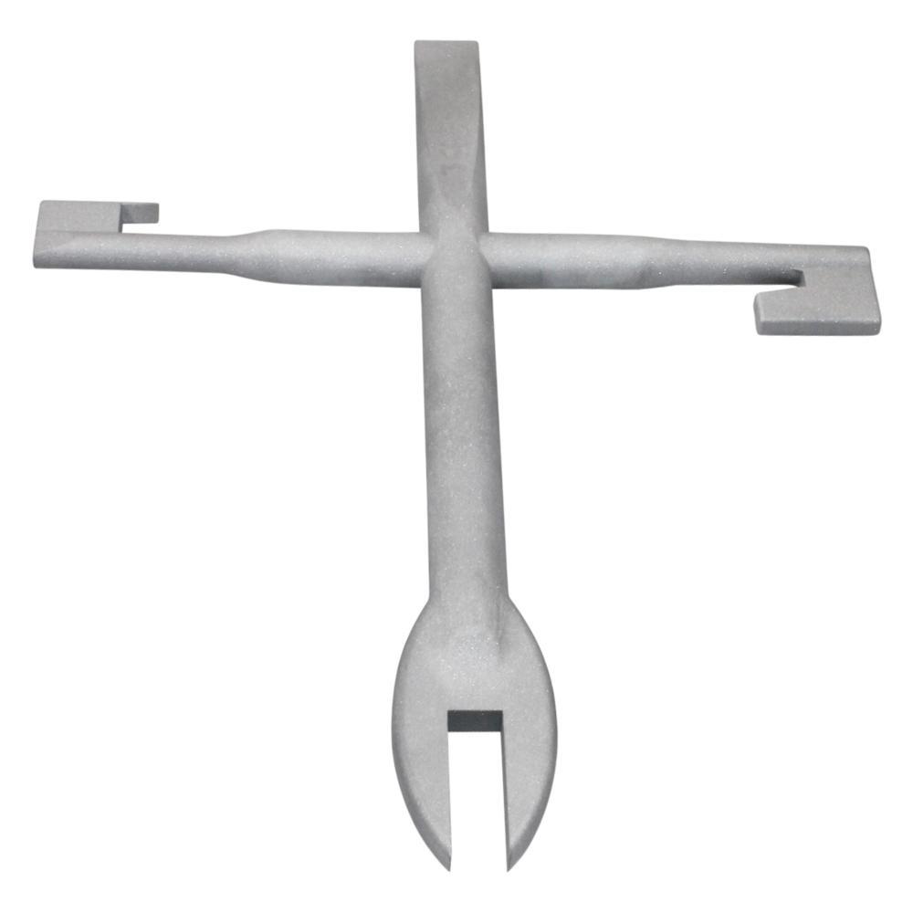 4-in-1 Meter Key Combo Tool