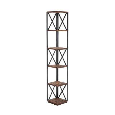 Raleigh Natural Brown Bookcase