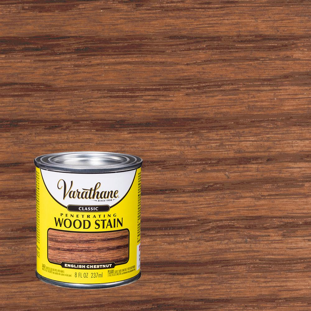 Varathane 8 oz. English Chestnut Classic Wood Interior Stain