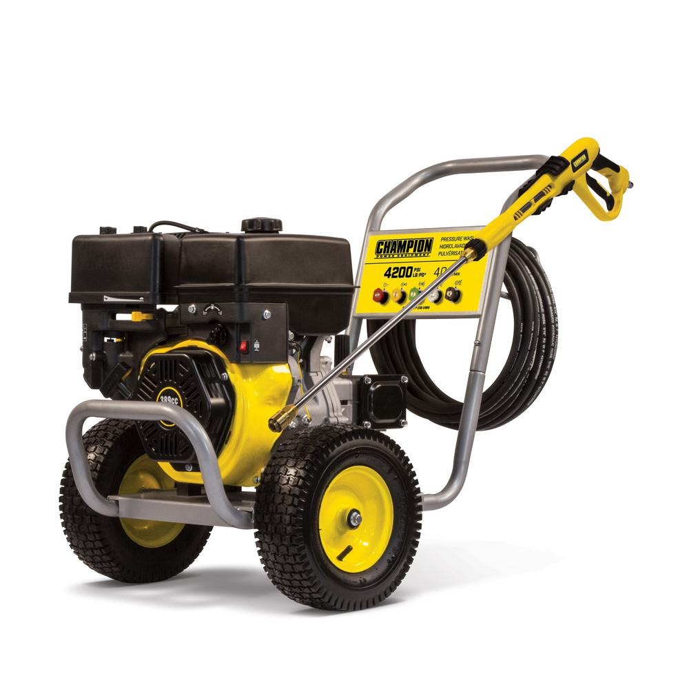 Champion Power Equipment 4200 Psi 4 0 Gpm Gas Powered