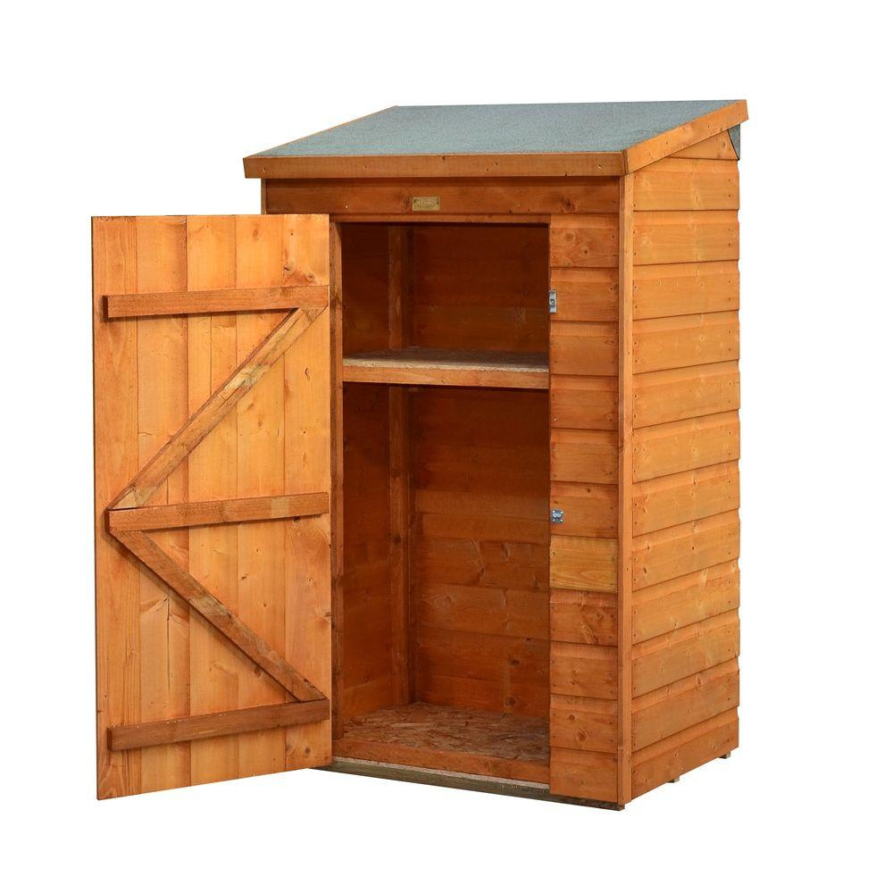 Bosmere mini store 3 ft x 2 ft wood storage shed a049 for Mini potting shed