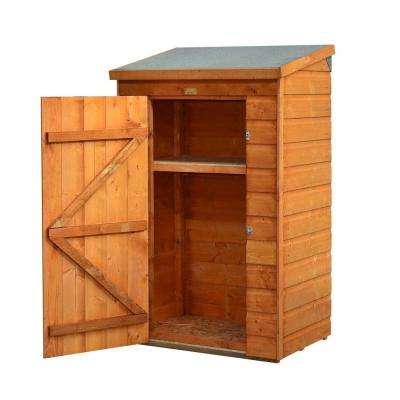 Mini-Store 3 ft. x 2 ft. Wood Storage Shed